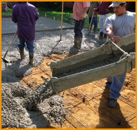 concrete contractors dallas